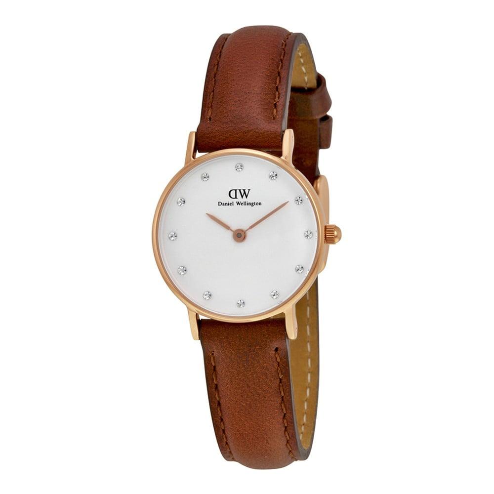 a0f737f576 Dámske hodinky s koženým remienkom Daniel Wellington Folkestone