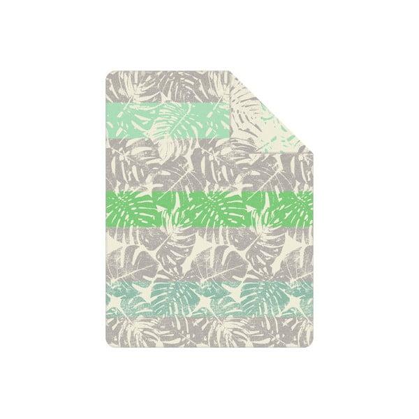Deka S.Oliver, 150x200 cm, tropický motív