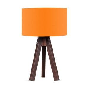 Stolová lampa s oranžovým tienidlom Kate Louise Kahve