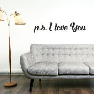 Samolepka na stenu P.S. I Love You
