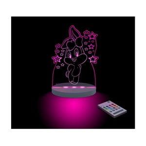 Detské LED nočné svetielko Lola Bunny