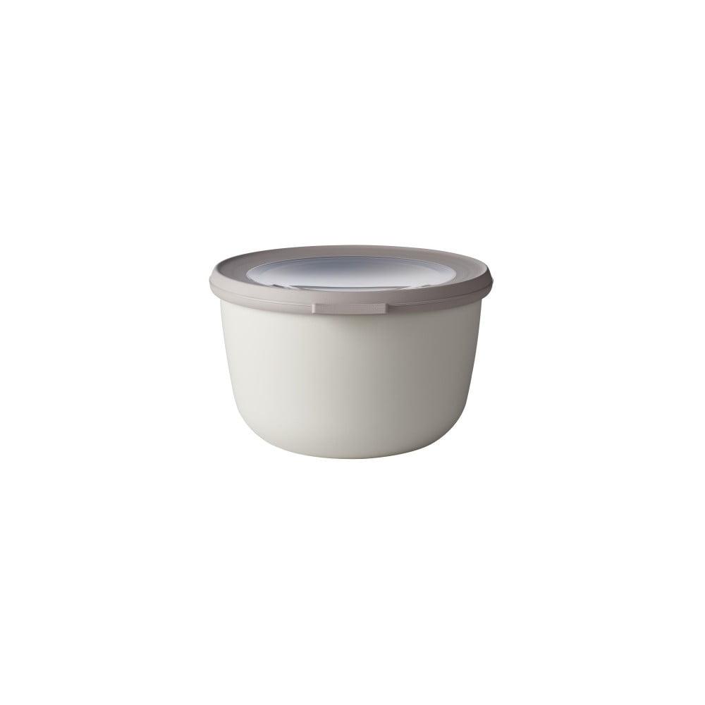 Sivá miska s viečkom Rosti Mepal Nordic, 1000 ml
