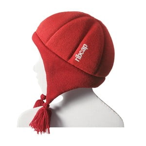 Detská helma Ribcap Chessy Red Midi