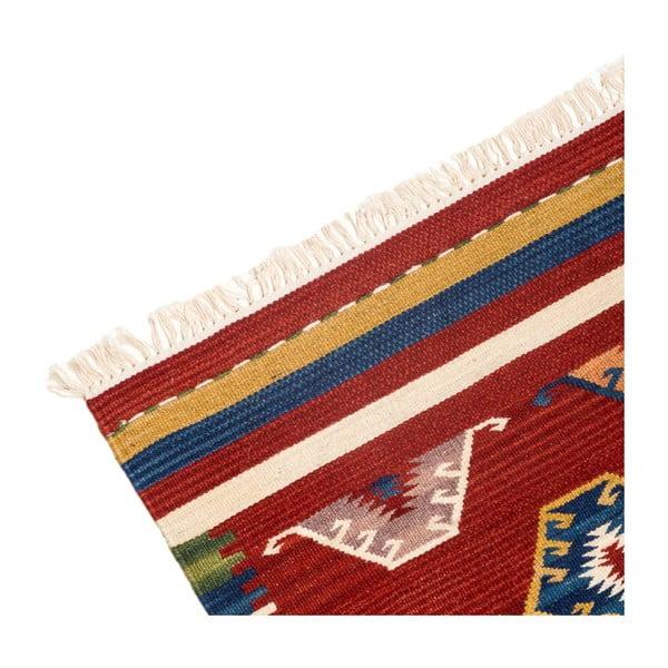 Ručne tkaný koberec Kilim Dalush 609, 250x80 cm