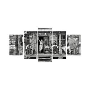 Viacdielny obraz Black&White no. 82, 100x50 cm