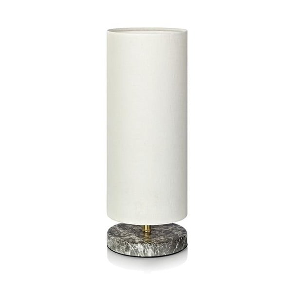 Sivá stolová lampa Markslöjd Herald