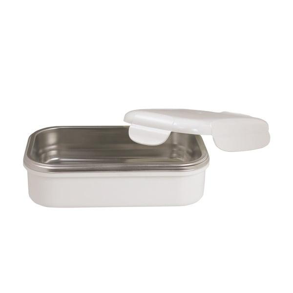Biela termoizolačná miska na obed Pioneer Lunchbox