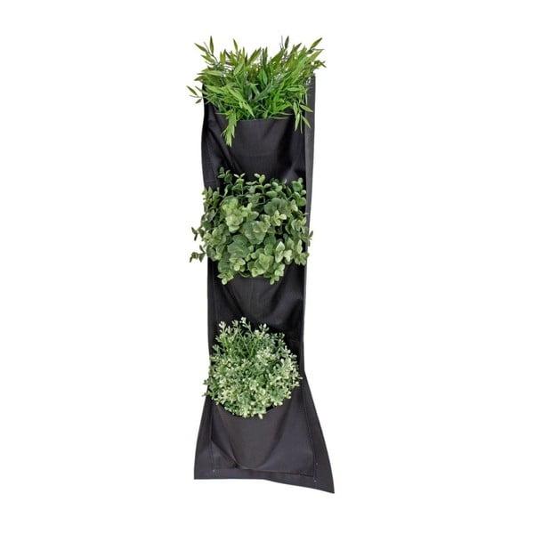 Závesný textilný kvetináč ADDU Planting, 26×70 cm