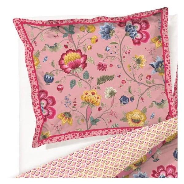 Obliečka na vankúš Floral Fantasy Ecru, 60x70 cm