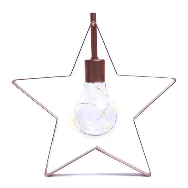 Dekoratívna LED lampička v tvare hviezdičky DecoKing Star