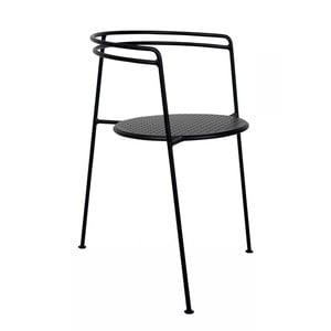 Čierna stolička OK Design Point
