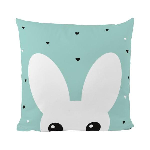 Vankúš Mr. Little Fox Curious Bunny, 50x50cm