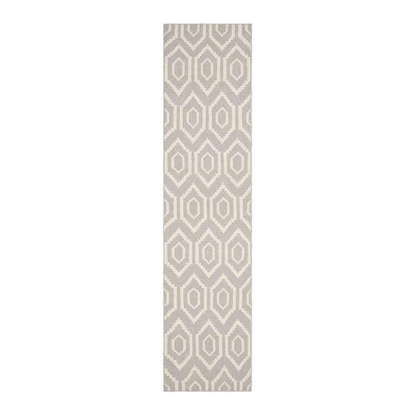 Vlnený koberec Casablanca, 76x182 cm