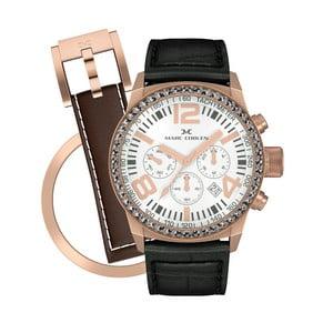 Dámske hodinky Marc Coblen s remienkom a krúžkom na ciferník naviac P55