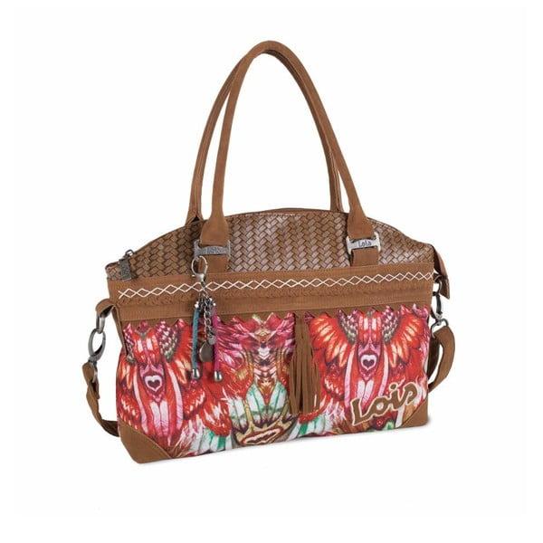 Farebná kabelka Lois, 40 x 28 cm