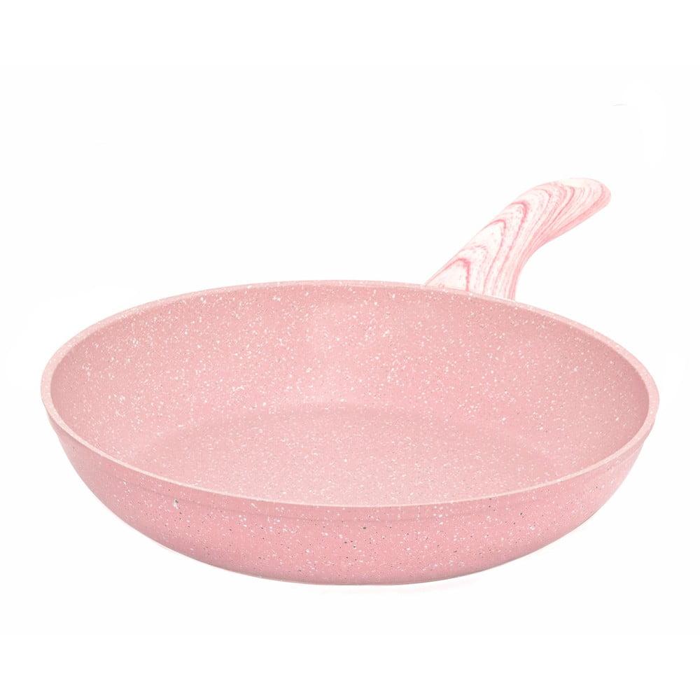 Ružová panvica Bisetti Stonerose, ø 24 cm