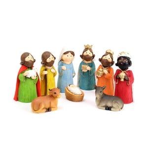 Sada 9 figúrok Unimasa Bethlehem