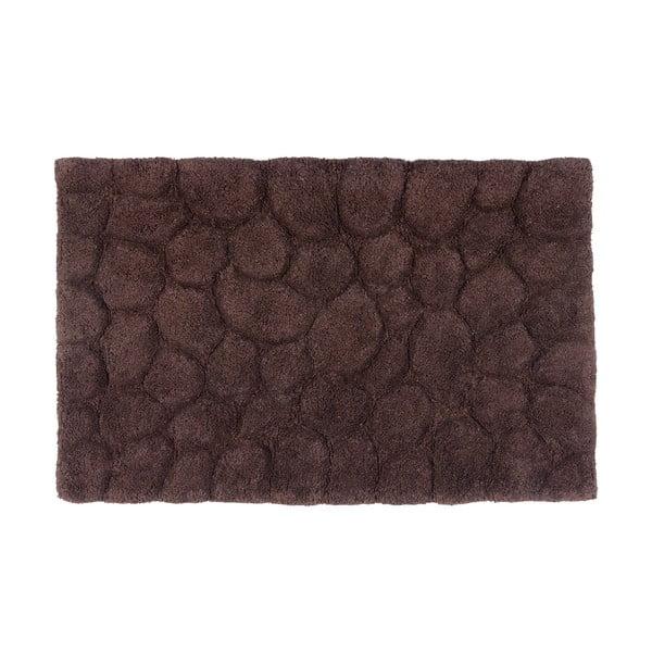 Bavlnená kúpeľňová predložka Brown, 50x80 cm