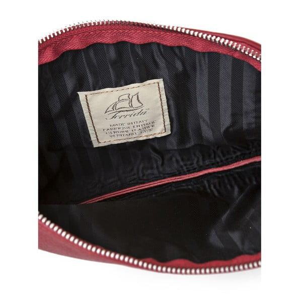 Listová kabelka Ella Bordeaux