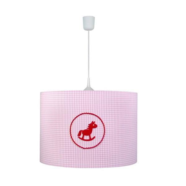 Závesné svietidlo Pink Horse