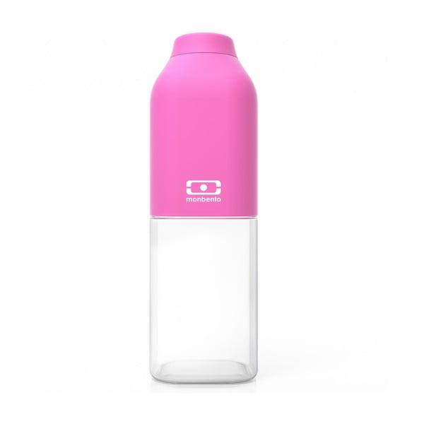 Ružová fľaša Monbento Positive, 500 ml