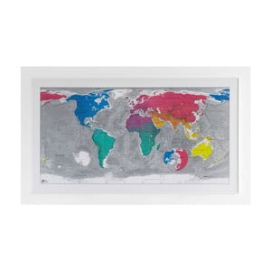 Mapa sveta The Future Mapping Company Colourful World, 130 x 72 cm