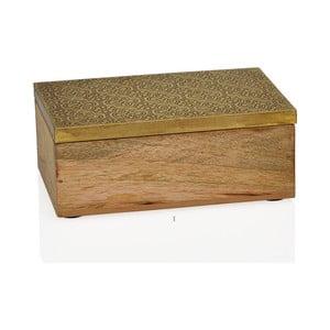 Dekoratívny box Gold, malý