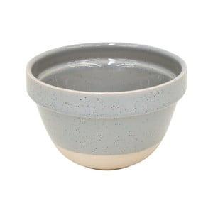 Sivá miska z kameniny Casafina Fattoria, ⌀ 17 cm