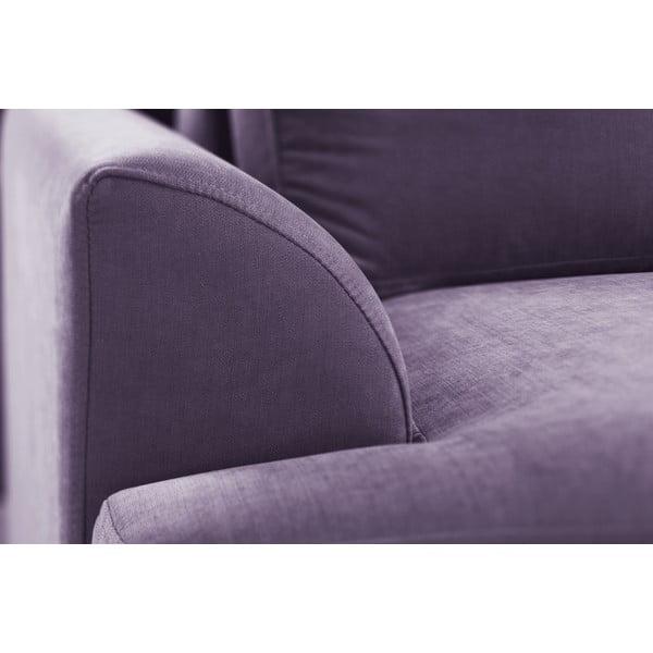 Trojdielna sedacia súprava Jalouse Maison Irina, fialová
