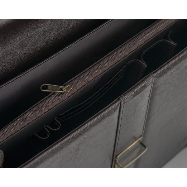 Pánska taška Solier S20, hnedá