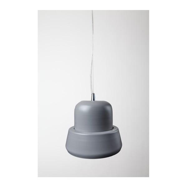 Závesné svetlo Brambla Prima Mini, sivé