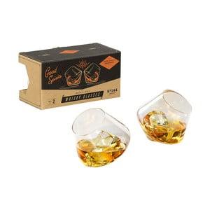 Sada 2 pohárov na whisky Gentlemen's Hardware Whisky Glasses