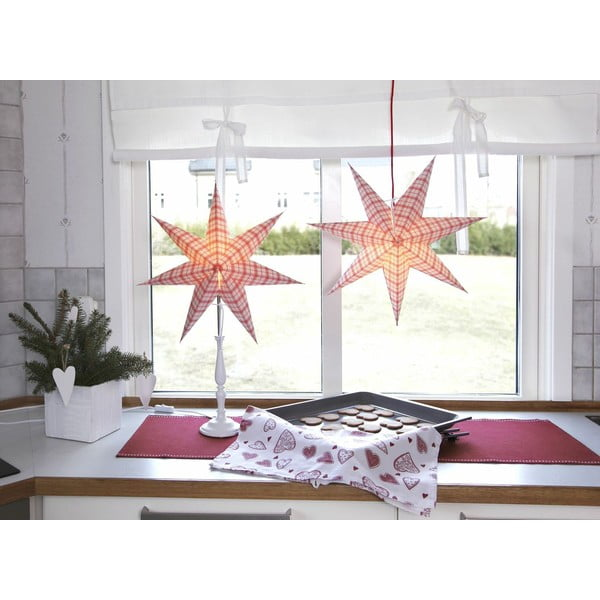 Svietiaca hviezda so stojanom Lisa, 70 cm
