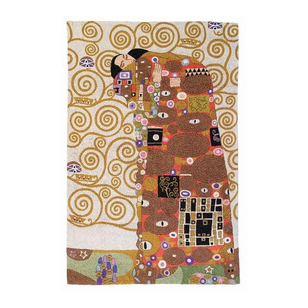 Koberec Klimt The Embrace, 180x120 cm