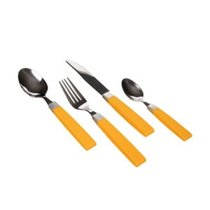 Príbor Posate Yellow, 24 ks