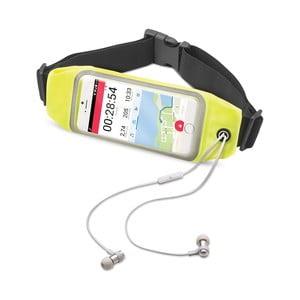 """Športové neoprénové puzdro CELLY RunBelt View, pre telefóny do 5.5"""", žlté"""