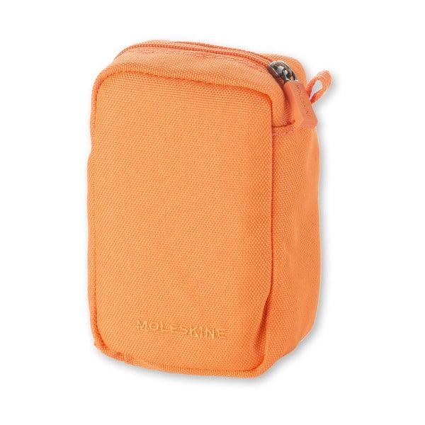 Oranžová univerzálna kapsička Moleskine, 8x12cm