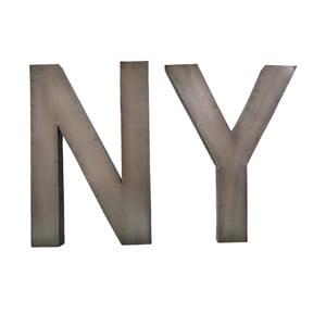Dekoratívny nápis NY