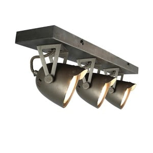 Sivé nástenné svietidlo LABEL51 Spot Moto Cap Tres