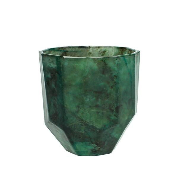 Rytý krištáľový pohárik  HF Living Emerald