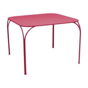 Ružový záhradný stolík Fermob Kintbury