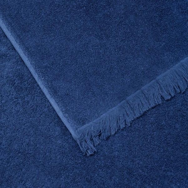 Sada 2 modrých bavlnených uterákov Casa Di Bassi Face, 50x90cm
