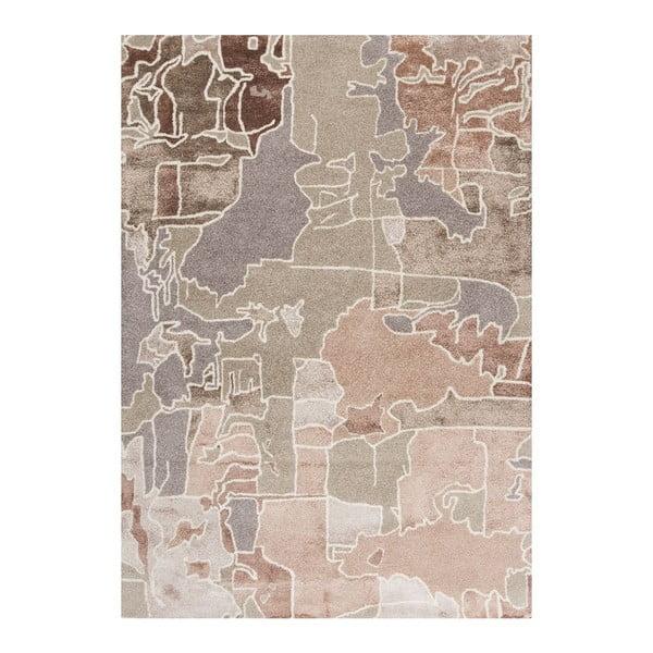Ručne tuftovaný koberec Linie Design Pazzo Earth, 140x200cm