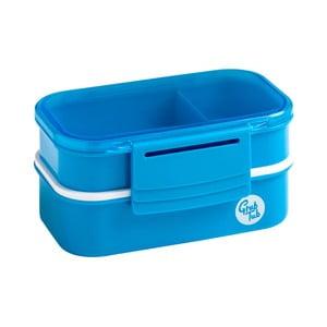 Set 2 modrých desiatových boxov Premier Housewares Grub Tub, 13,5×10cm