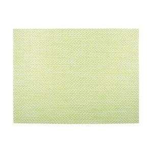 Svetlozelené prestieranie Tiseco Home Studio Melange Triangle, 30 x 45 cm