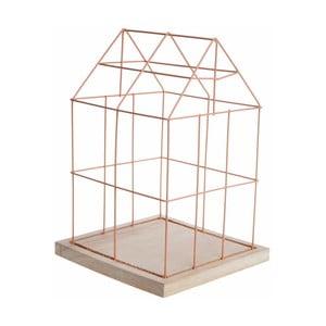 Ružová dekoratívna klietka Ewax Pink Cage