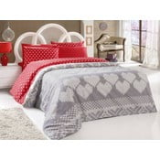 Obliečky Fioynk red, 200x220 cm