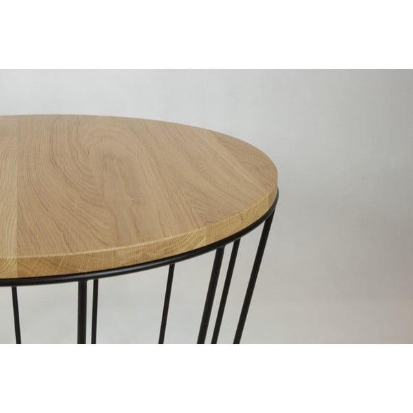 Odkladací stolík Basket Black
