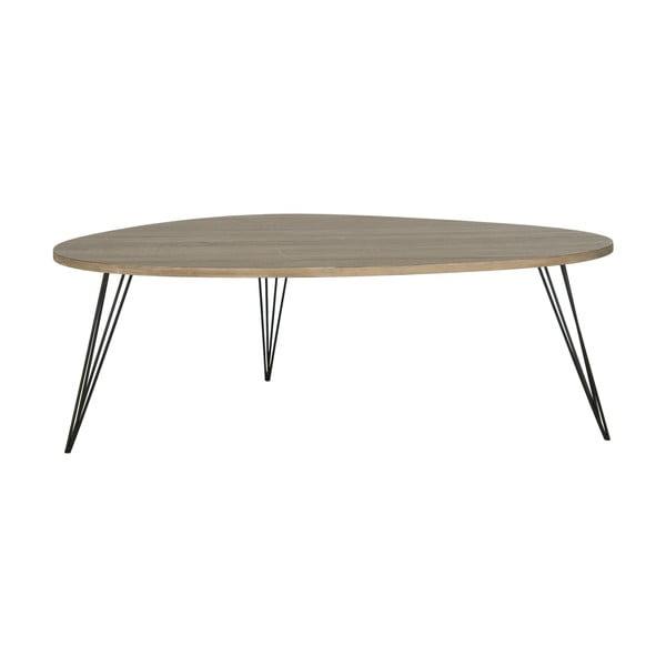 Kávový stôl Wynton, tmavá doska