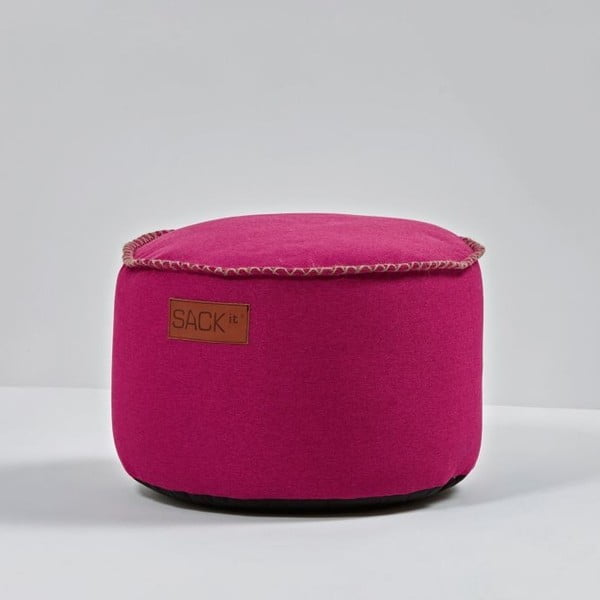 Puf RETROit Indoor Drum Pink